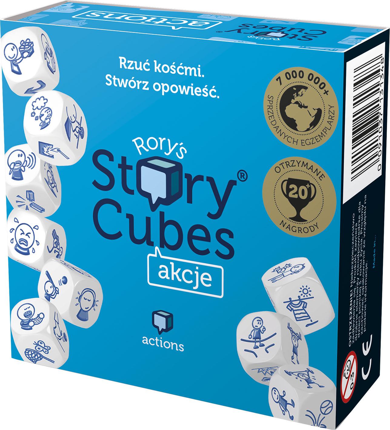 Story Cubes: Akcje (Gra Karciana)