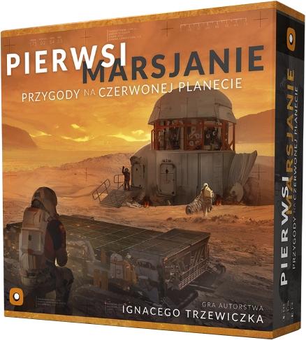 Pierwsi Marsjanie: Przygody na Czerwonej Planecie (Gra Planszowa)