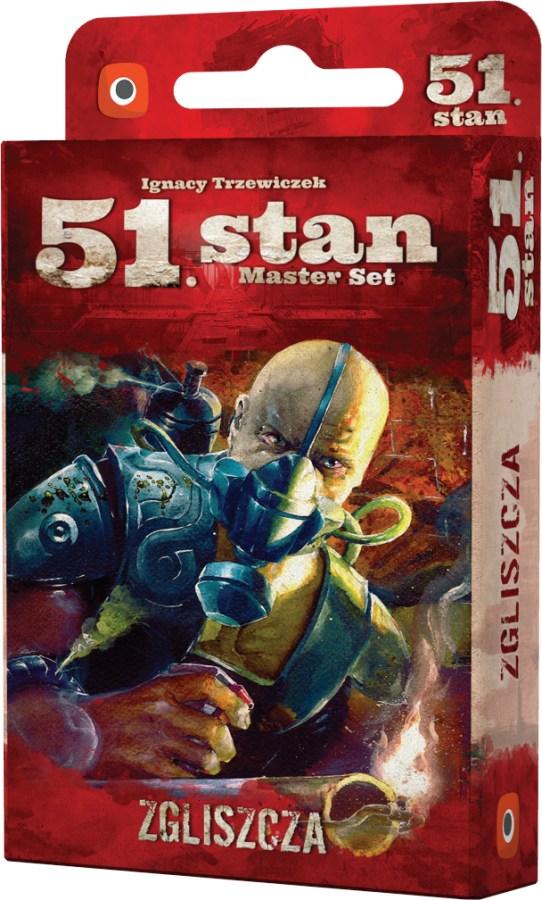 51 Stan: Master Set - Zgliszcza (Gra Karciana)