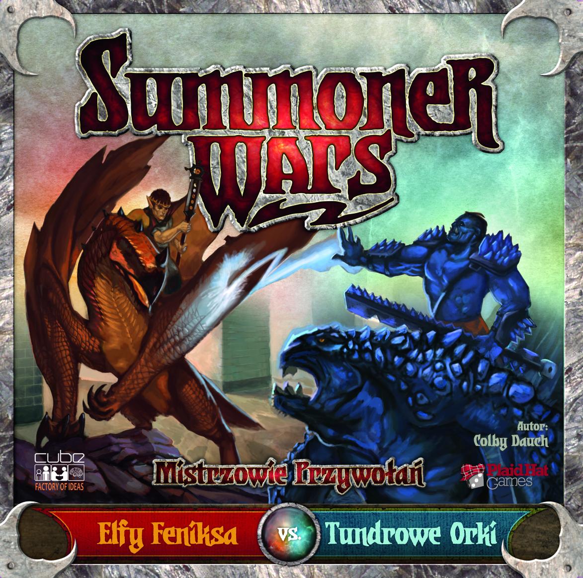 Summoner Wars: Elfy Feniksa vs Tundrowe Orki