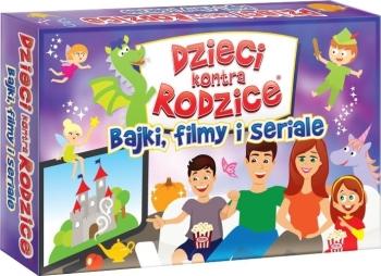 Dzieci Kontra Rodzice: Bajki, filmy i seriale (gra planszowa)