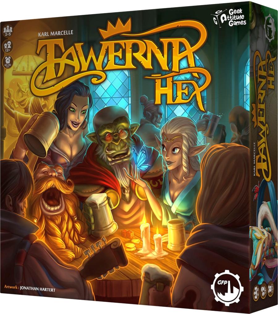 Tawerna Hex (Gra Planszowa)