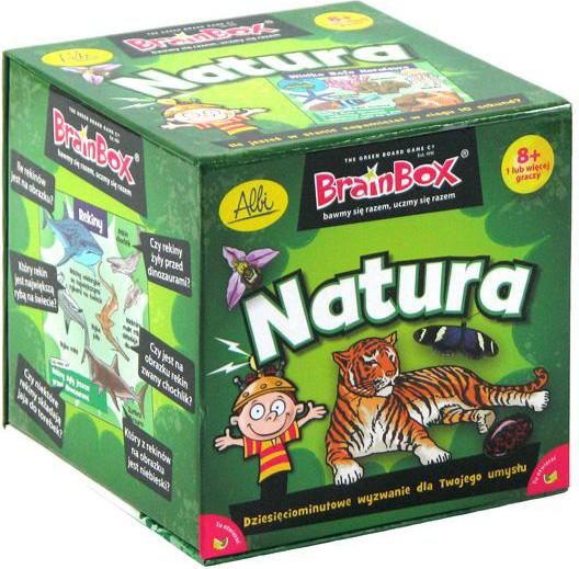 BrainBox: Natura (Gra Karciana)