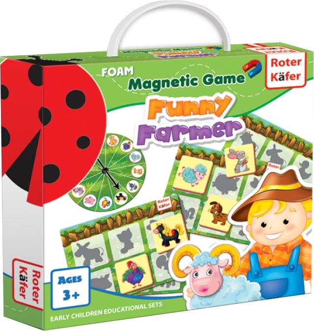 Funny Farmer - Gra Magnetyczna (Gra rodzinna)