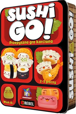 Sushi Go! (edycja polska) (Gra Karciana)