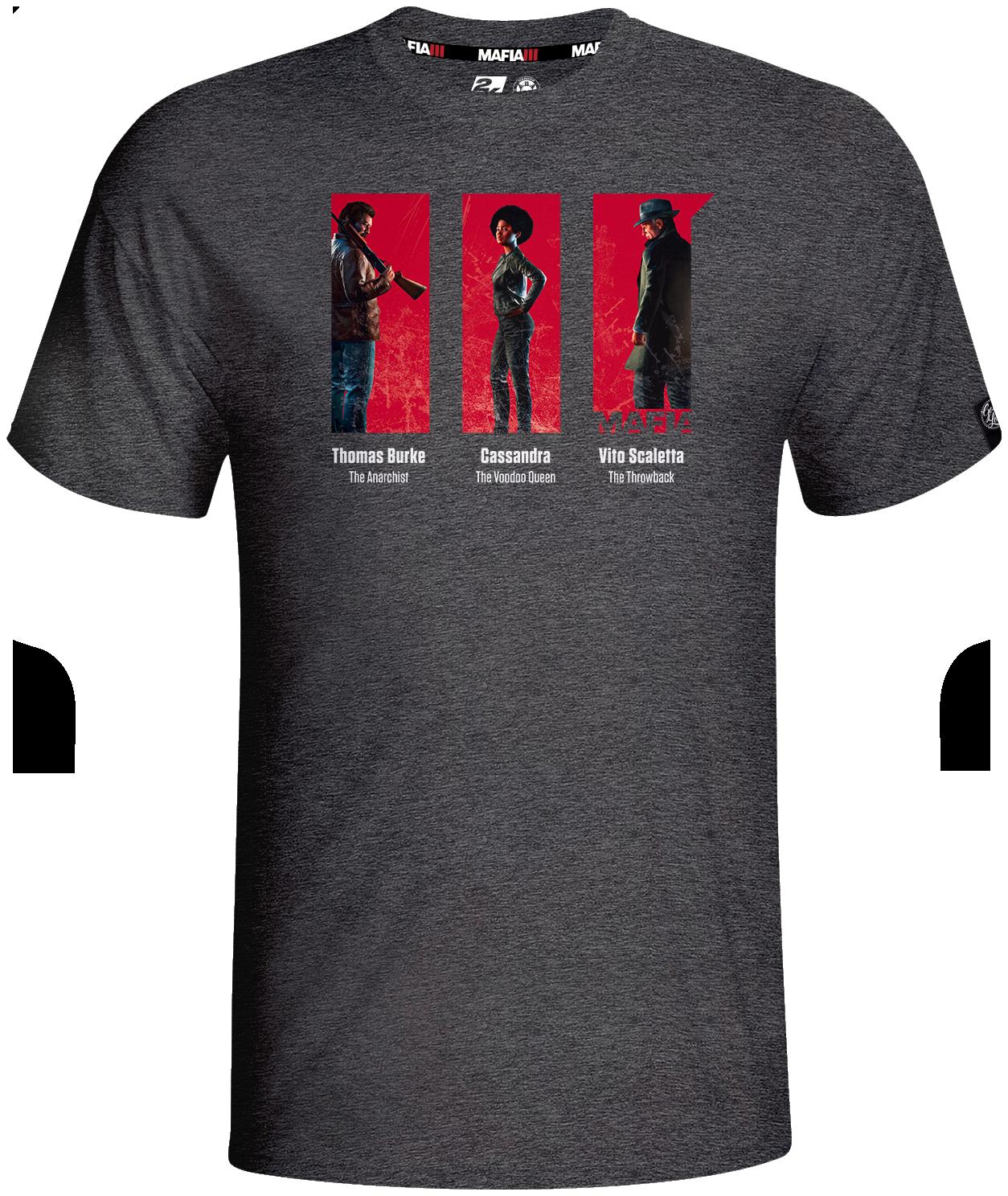 Mafia III Lieutenants T-shirt - XL