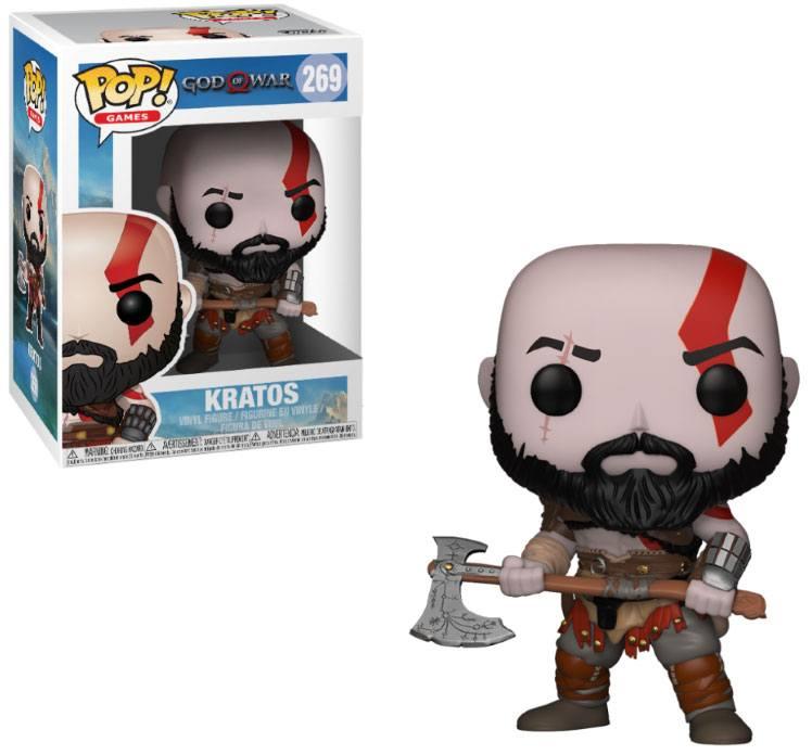 God of War POP! Winylowa Figurka Kratos 9 cm