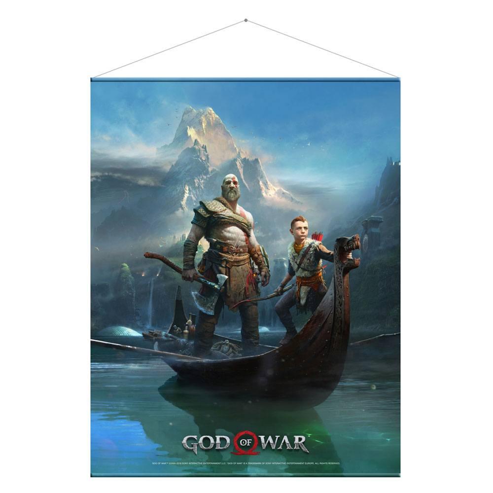 God of War Plakat Ojciec i Syn  100 cm x 77 cm