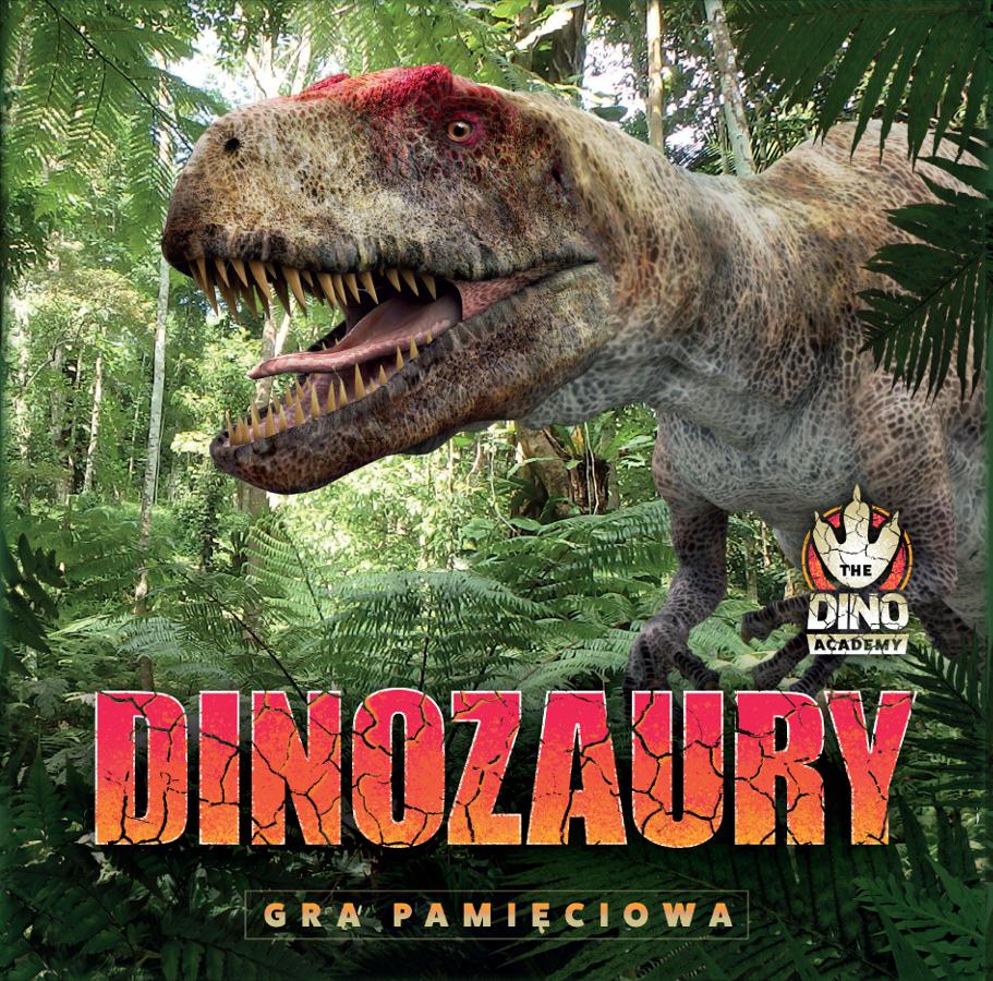 Dinozaury: Gra Pamięciowa (Gra karciana)