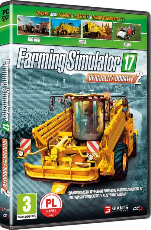 Farming Simulator 17 Oficjalny Dodatek 2 (PC) PL