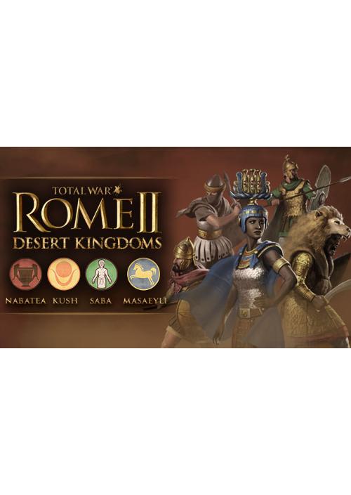 Total War: Rome II – Desert Kingdoms Culture Pack DLC (PC) PL klucz Steam