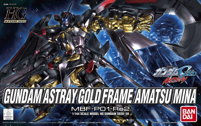 HG 1/144 GUNDAM ASTRAY GOLD FRAME AMATSUMINA
