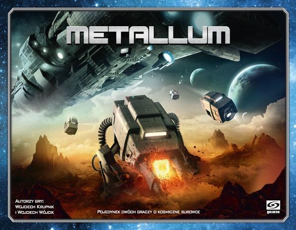 Metallum (Edycja Polska) (Gra Planszowa)