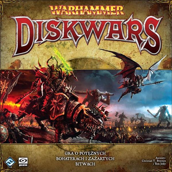 Warhammer: Diskwars - Zestaw podstawowy (edycja polska) (Gra Planszowa)