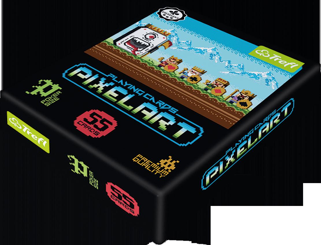 Karty Trefl - PixelArt (Gra Karciana)