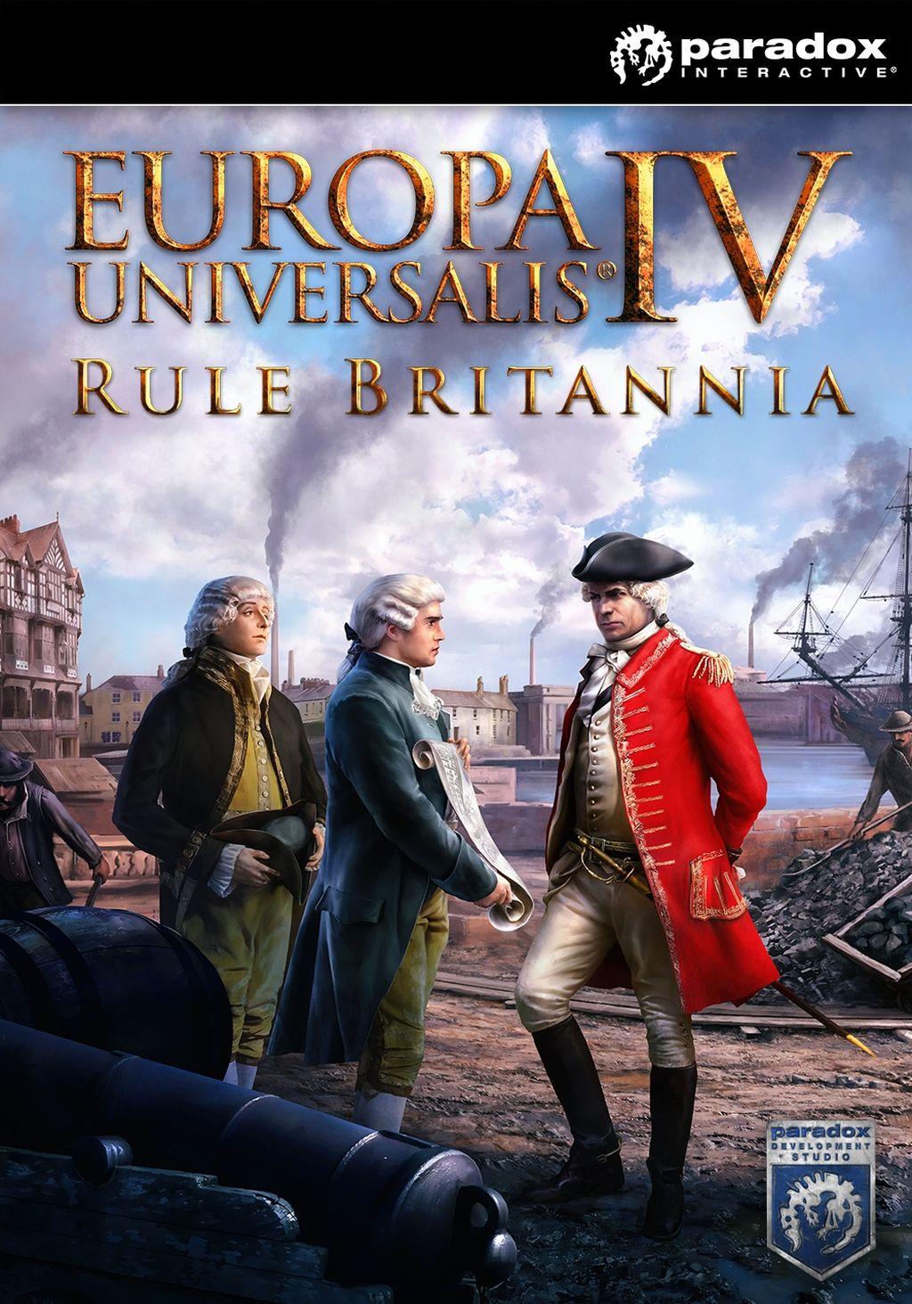 Europa Universalis IV: Rule Britannia (PC) klucz Steam