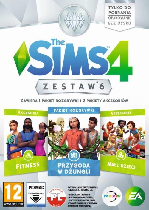 The Sims 4 Zestaw 6 (PC) PL Klucz Origin