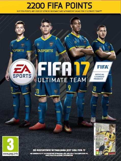 FIFA 17 Points (PC) PL DIGITAL 2200 punktów