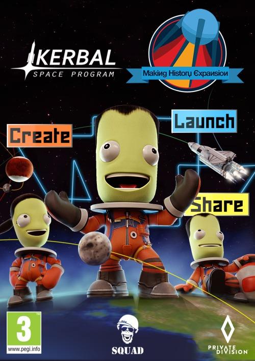 Kerbal Space Program: Making History (PC/MAC/LX) klucz Steam