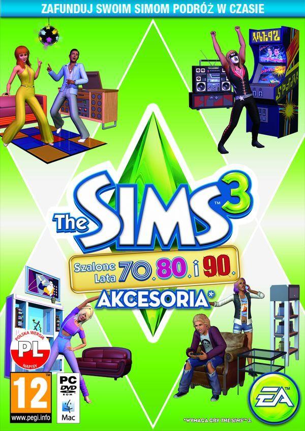 The Sims 3 Szalone Lata 70., 80. i 90 (akcesoria) (PC) klucz