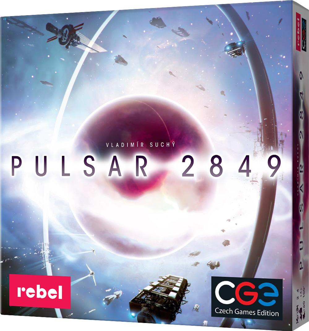 Pulsar 2849 (edycja polska) (Gra Planszowa) + Koszulka