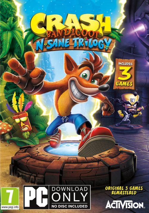 Crash Bandicoot N. Sane Trilogy (PC) DIGITAL