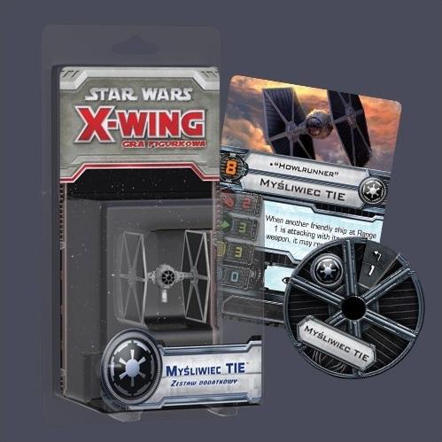 X-Wing: Zestaw Dodatkowy - Myśliwiec Tie (Gra figurkowa)