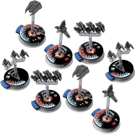 Star Wars Armada - Eskadry Myśliwców Imperium II (Gra figurkowa)