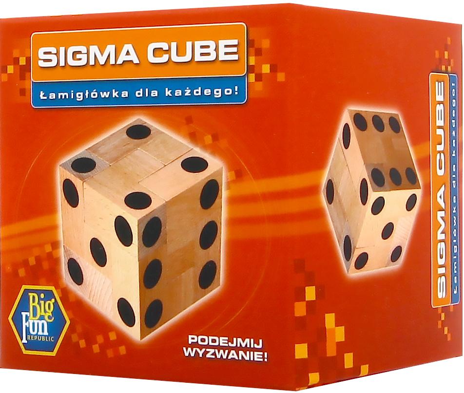 Sigma Cube - Łamigłówka dla każdego (Gra Klasyczna)
