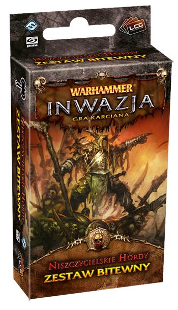 Warhammer Inwazja - Niszczycielskie Hordy (Gra karciana)