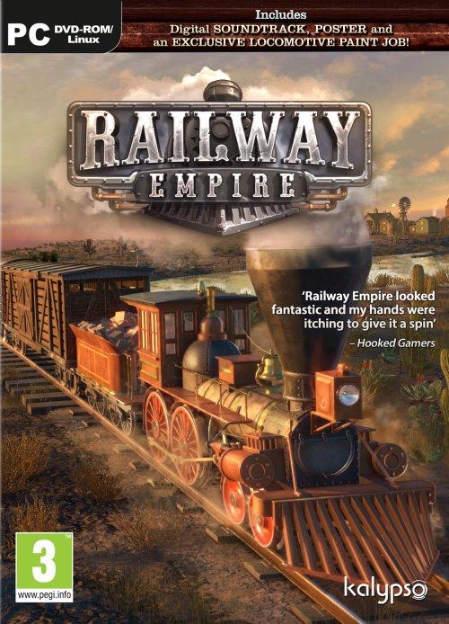 Railway Empire (PC) PL klucz Steam