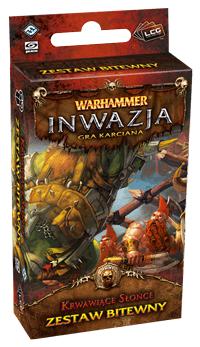 Warhammer Inwazja - Krwawiące Słońce (Gra karciana)