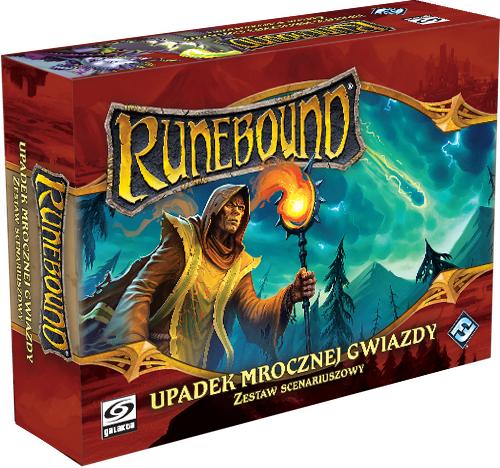 Runebound 3 - Zestaw Scenariuszowy - Upadek Mrocznej Gwiazdy (Gra planszowa)