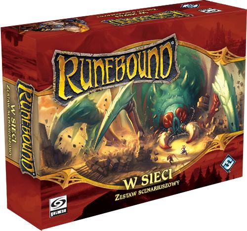 Runebound 3 - Zestaw Scenariuszowy - W Sieci (Gra planszowa)