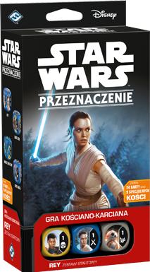 Star Wars: Przeznaczenie - Rey - Zestaw startowy (Gra kościano-karciana)