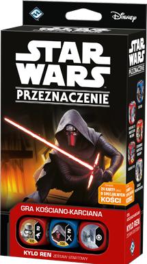 Star Wars: Przeznaczenie - Kylo Ren - Zestaw startowy (Gra kościano-karciana)