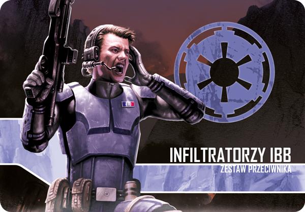 Star Wars: Imperium Atakuje - Infiltratorzy IBB (Gra planszowa)