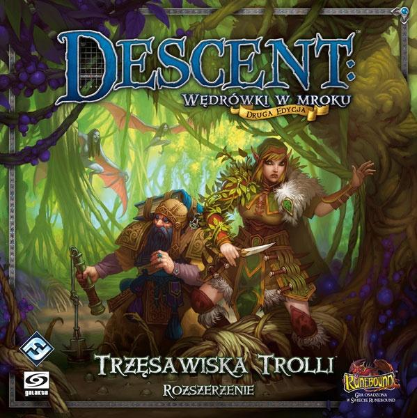 Descent: Wędrówki w Mroku - Trzęsawiska Trolli (Gra planszowa)