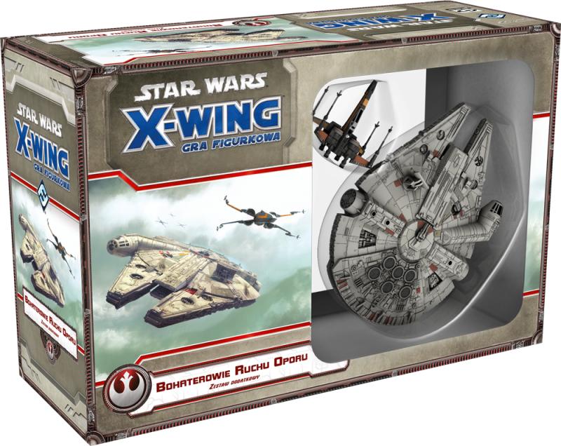 X-Wing: Zestaw Dodatkowy - Bohaterowie Ruchu Oporu (Gra figurkowa)