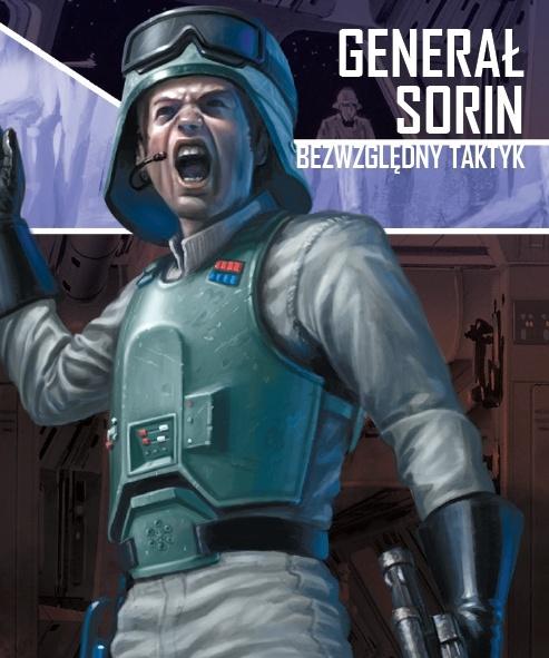 Star Wars: Imperium Atakuje - Generał Sorin, Bezwzględny Taktyk (Gra planszowa)