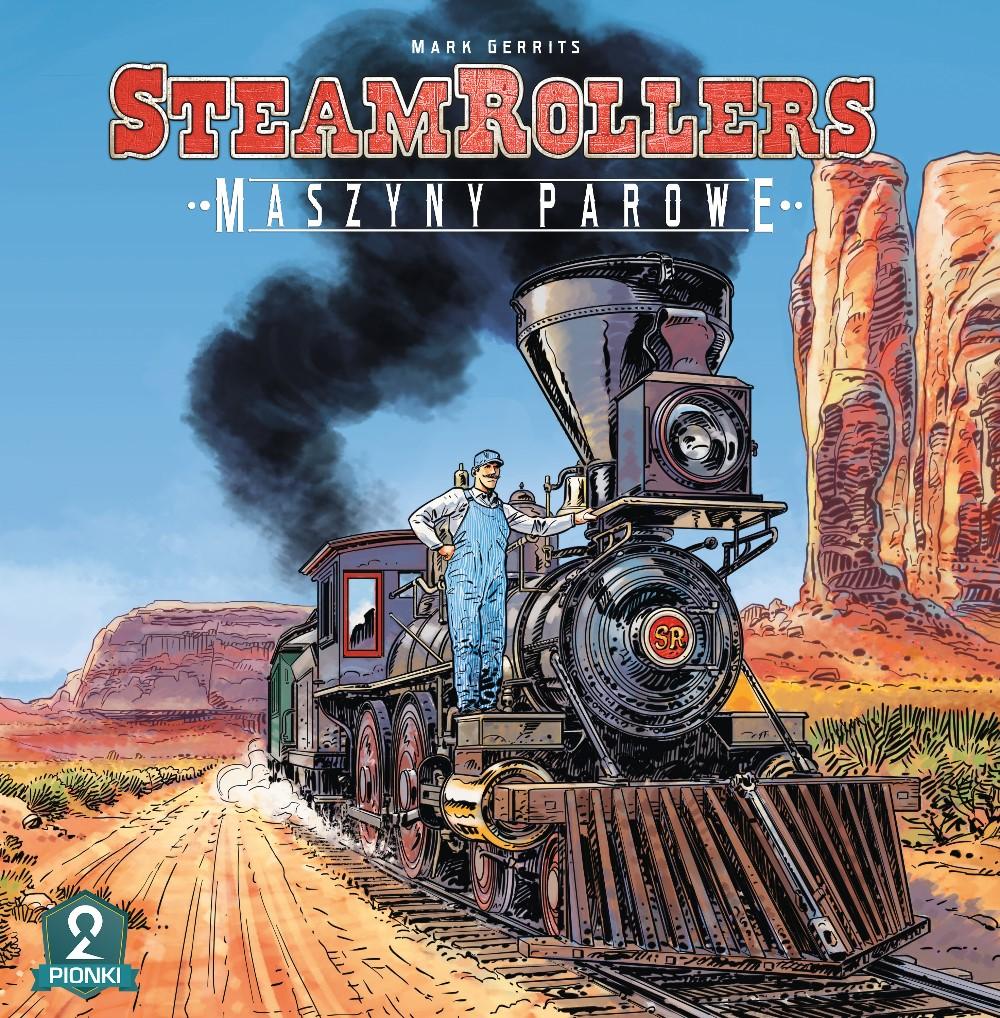 SteamRollers: Maszyny parowe (Gra Planszowa)