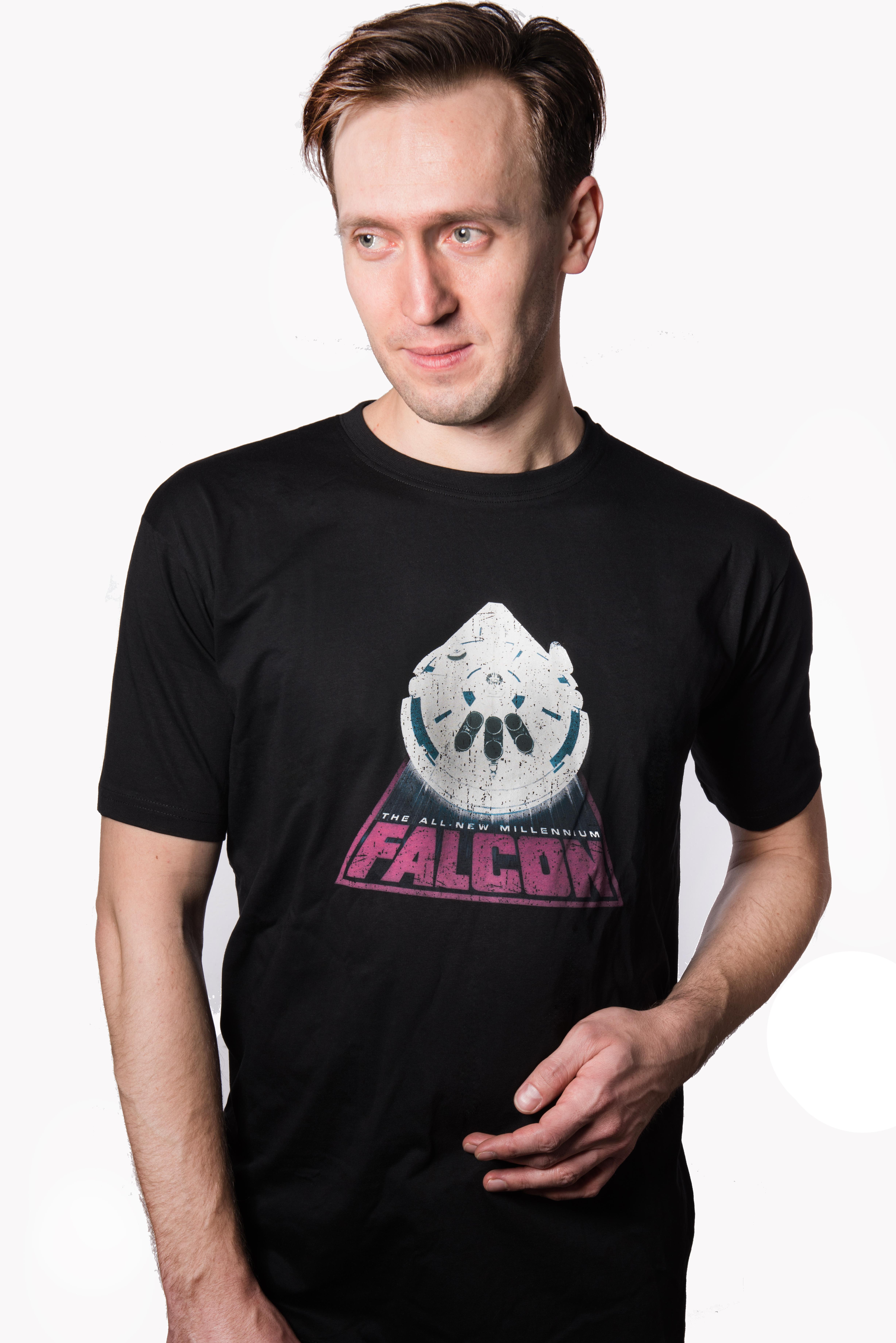 Star Wars Falcon  - koszulka S