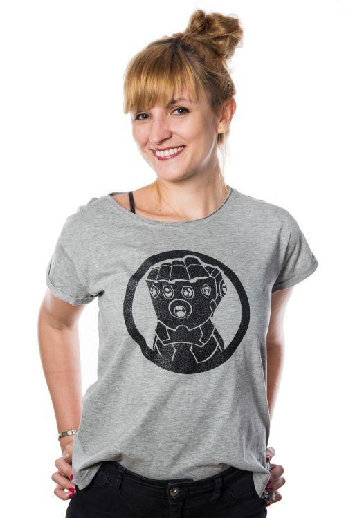 Marvel Infinity War Infinity Glove  - damska koszulka XL