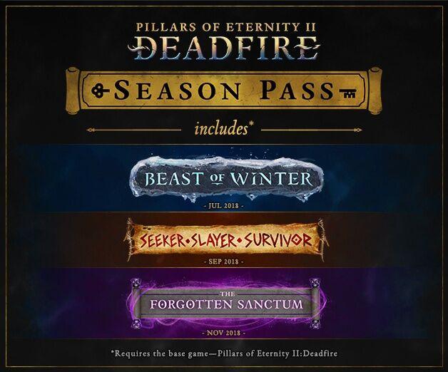 Pillars of Eternity II: Deadfire - Season Pass (PC) DIGITÁLIS