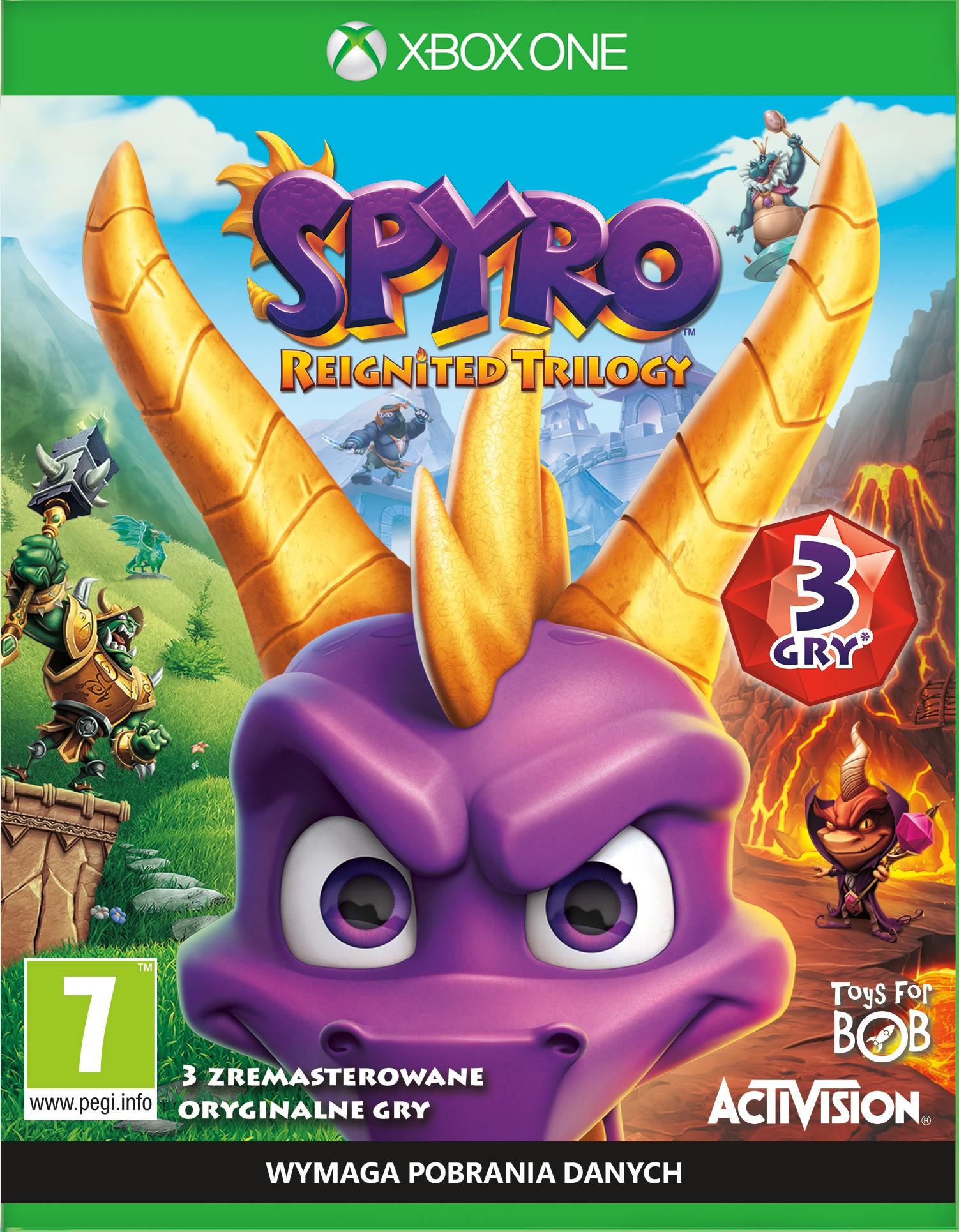 Spyro Reignited Trilogy (XOne) PL DUBBING + Bonus