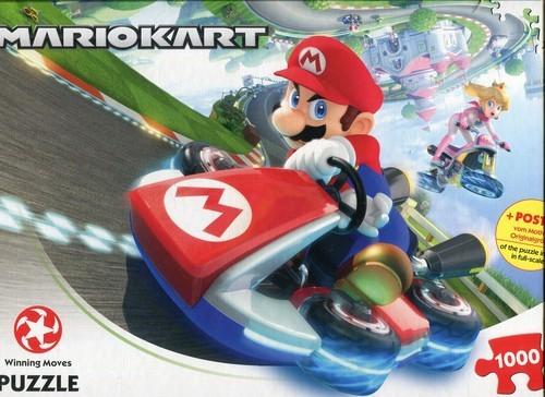 Puzzle Mario Kart Funracer 1000 PCS (puzzle)