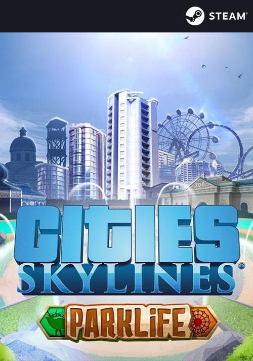 Cities: Skylines - Parklife Plus (PC/MAC/LX) PL klucz Steam