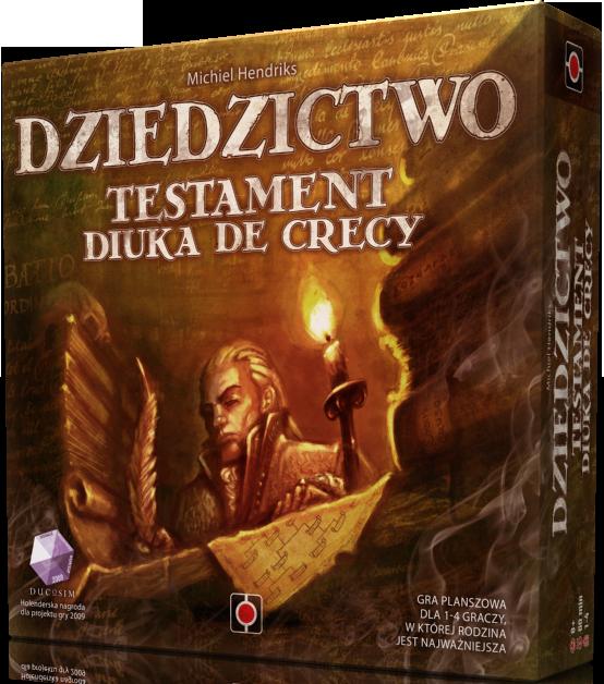 Dziedzictwo: Testament Diuka de Crecy  (Gra planszowa)