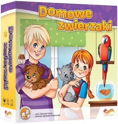 Domowe zwierzaki (Gra Planszowa)