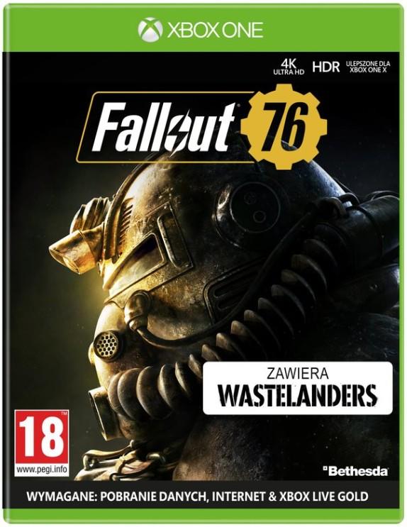 Fallout 76 (XOne) PL + Fallout 4 pins